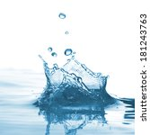 water splash | Shutterstock . vector #181243763