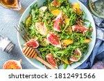 Autumn Fig And Arugula Salad...