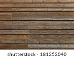 old wooden boards background of ... | Shutterstock . vector #181252040