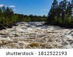Violent Water In Janiskoski...
