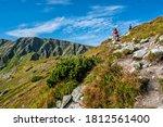 Tourists In Western Tatras...