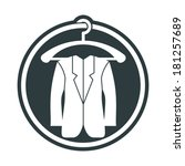 cloth icon  vector illustration ... | Shutterstock .eps vector #181257689