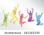 background,banner,brochure,color,colorful,crazy,design,folder,free,freedom,friend,happy,illustration,joy,jump