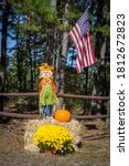 The American Flag  Scarecrow ...