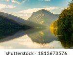 Buttermere Lake In Misty...
