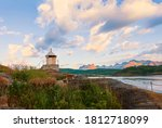 Old Lighthouse On The Shore Of...