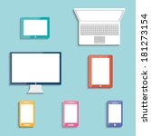 electronic devices with white...