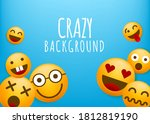 high quality yellow emoticon... | Shutterstock .eps vector #1812819190