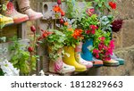 Rubber Wellington Boots Are...