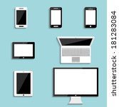electronic devices with blank...