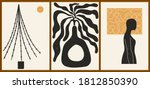 set of three abstract... | Shutterstock .eps vector #1812850390