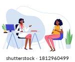 medicine concept with black... | Shutterstock .eps vector #1812960499