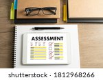 Small photo of interview assessment passed questionnaire Assessment Calculation Estimate Assessment Concept
