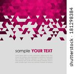 abstract technology background  ... | Shutterstock .eps vector #181298384