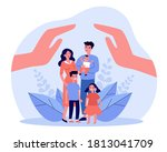 family care or help concept.... | Shutterstock .eps vector #1813041709