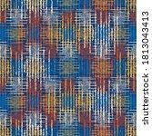 multicolor grain stroke... | Shutterstock .eps vector #1813043413