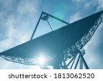 Huge Satellite Antenna Dish For ...
