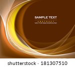 vector background. | Shutterstock .eps vector #181307510
