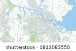 ity map amsterdam  color... | Shutterstock .eps vector #1813083550