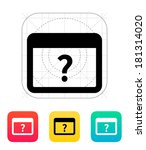 faq application icon.