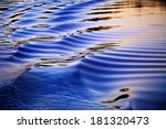 Ripples In The Wake Of A...