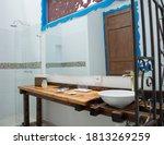 Bathroom Interior Of Brand New...