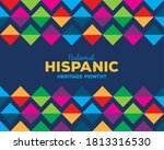 colored pattern background...   Shutterstock .eps vector #1813316530