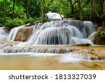 Mae Kae Waterfall Is Hidden In...