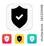 accept shield icon.