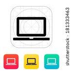 laptop screen icon.