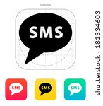 sms message icon.