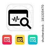 pulse monitoring icon.