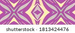 Purple Tiger Leather Print....