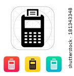 billing machine icon.