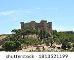 Belmonte Castle On A Hill With...