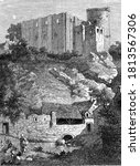 Castle Of Falaise And Arlette...