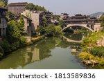 Bridge Reflecting On A River I...