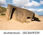 Sunken Coastal Pillbox Bunker...