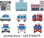 Japanese Fire Police Hospital...