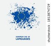 european day of language  26...   Shutterstock .eps vector #1813874729