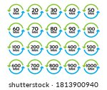 vector set of icons of network... | Shutterstock .eps vector #1813900940