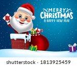 christmas character santa...   Shutterstock .eps vector #1813925459