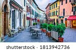 Charming Streets With Bars In...