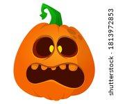 Cartoon Funny Halloween Pumpkin ...