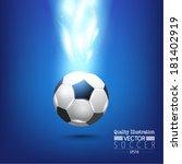 creative soccer vector design | Shutterstock .eps vector #181402919
