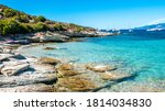 Corsica Beach With Turquoise...