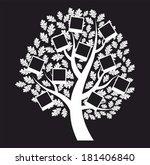 family  genealogical tree on... | Shutterstock . vector #181406840