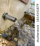 Old Wooden Standpipe With Fres...