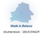 map icon of belarus. vector... | Shutterstock .eps vector #1814154629