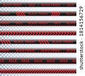 danger tape black friday.... | Shutterstock .eps vector #1814156729